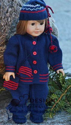 Puppenkleidung stricken kostenlos