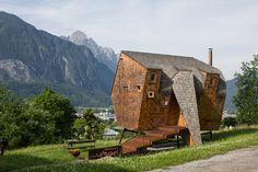 Cabin Porn – Ufogel in Osttirol, Austria