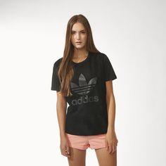 adidas - Camiseta Suede Mix Feminina