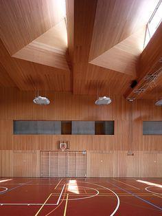 Frei Rezakhanlou architectes - 2010 Ecole à Chermignon