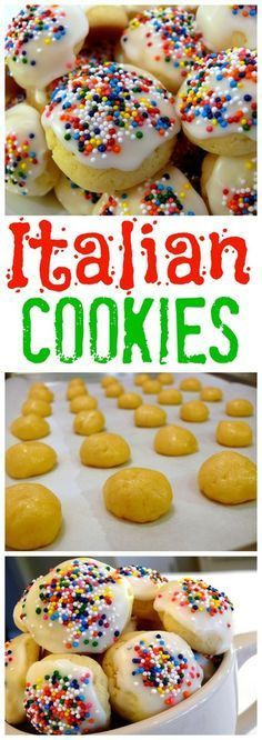 Italian Cookies from http://NoblePig.com.