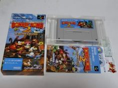 Donkey Kong Country 2 100% Complet - Import Japan - Super Famicom