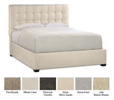 Sleep Number® Soft Modern Upholstered Headboard