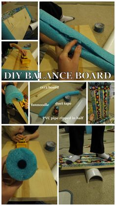 DIY Balance Board from timandmeg.net