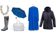 Singing in the Rain: Coole Outfits für nasse Regentage