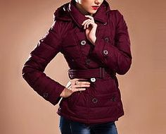 Red Wine Down Coat