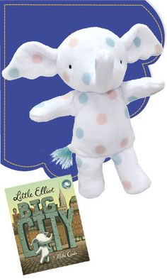 """Little Elliot Doll 9"""""""