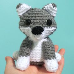 AdrialysHC s Tiny Wolf. Crochet Amigurumi Free PatternsLoom ... cdec7018beb