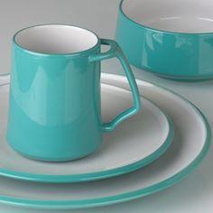 Kobenstyle Teal 4-piece Dinnerware Place Setting by Dansk®