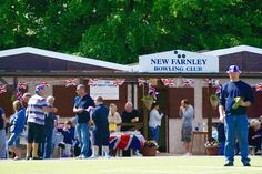 New Farnley Bowling club, Leeds.   Looks fun, I think we will join
