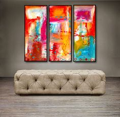 """$139.99. 'Beautiful splash' - 36"""" X 30"""" Original Abstract Art Painting. Everyone knows that accessories complete the home. With several pieces of paintings to choose from, your search for a perfect, one of a kind original artwork for your walls ends here.You don't need to settle for anything less than a perfect look. Enjoy free-shipping throughout USA, Free hardware and 30-day return."""