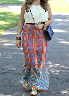 Take a Print Maxi Dress || The Mint Julep Boutique https://www.shopthemint.com/products/take-a-print-maxi-dress-red