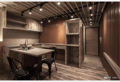 引光工宅_工業風設計個案—100裝潢網 Conference Room, Table, Furniture, Home Decor, Decoration Home, Room Decor, Tables, Home Furnishings, Home Interior Design