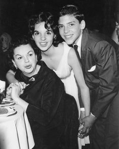 Judy Garland with Her Daughter Liza Minnelli and Son Joseph Luft