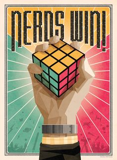 'Nerds Win!' Maxim Magazine // Illustration by DKNG