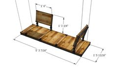 modular porch swing dimensions – swinglab