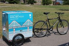 Bibliocycle is an innovative #bookmobile initiative from the Boston Public Library