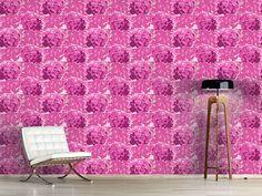 Design #Tapete Hortensia Pink