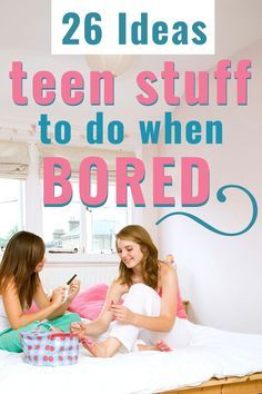 Teen Stuff to Do When Bored (At Home) - - What are the COOL and CHEAP things to do with teenager friends when bored? These budget-friendly activities will have your friends coming back for more. Fun Stuff To Do At Home, Things To Do At A Sleepover, Things To Do At Home, Indoor Things To Do, Things To Do Inside, Cheap Things To Do, Fun Things, What To Do When Bored, Things To Do When Bored For Teens