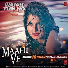 10 million in less than a week 💃🏼 Thank u my darlings fr all your love & support ... Keep it coming ❤️ https://youtu.be/Z2g_5a8TSmQ #MaahiVe #WajahTumHo @tseries.official