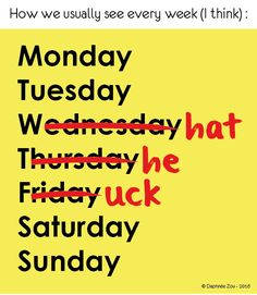 """How we usually see every week (I think)"" (Have a check on my portfolio #Behance)"
