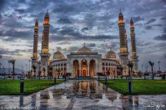 Sanaa mosque, Yemen - by Turki Al-Mohaiya