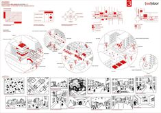 Social Housing in Çanakkale - Welcome my homepage Architecture Collage, Architecture Drawings, Urbane Analyse, Planer Layout, Urban Design Diagram, Public Space Design, Schematic Design, Presentation Layout, Concept Diagram
