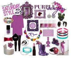 Saturday Style Purple Reign #jewelry #eco #ecofashion #ecojewelry #ecofriendly #empowering #ecoresin #accessorizeresponsibly