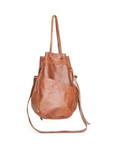 leather bag, erin templeton. soft leather option