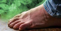 Zápach nohou je velmi nepříjemný Deodorant