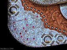 I would get pink rhinstones in my saddle!!!