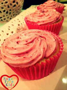 Here it is,ourbeautiful Sugar Free Raspberry Cupcake recipe! The Spelt cupcakes are moist and fluffy and the raspberry frosting is creamy and fruity, so perfect together. You will need to make th…