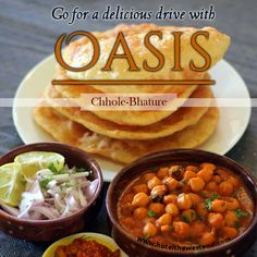 Delicious #Chhole - #Bhature at OASIS