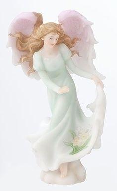 December Roman Seraphim Angel of The Month Roman Giftware Item 64392   eBay