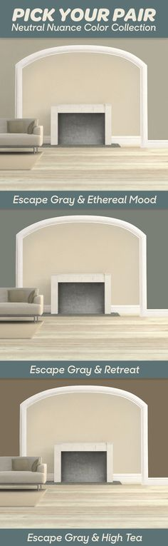 Top 8 Light NEUTRAL Paint Colours for Home Staging, Selling Greige