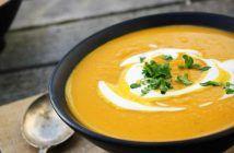 Supă cremă de dovleac Thai Red Curry, Vegetarian Recipes, Ethnic Recipes, Pune, Mai, Soups, Cream, Salads, Soup