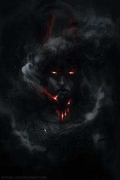 Dark art for our inner demons — The Dragon by Pauliina Linjama (Kipine on. fantasy art Dark art for our inner demons Dark Fantasy Art, Fantasy Artwork, Fantasy World, Dark Art, Demon Art, Demon Wolf, Arte Horror, Horror Art, Fantasy Creatures