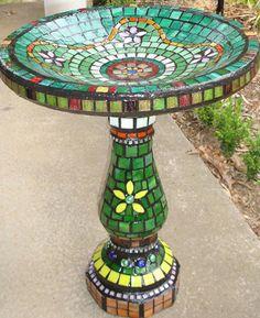 'Mosaic Birdbath' by Belinda Conibeernn2/02/2009 6:27 PM