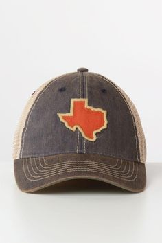fa34932fc992e NAVY State Of Texas Patch Vintage Trucker Hat Vintage Trucker Hats