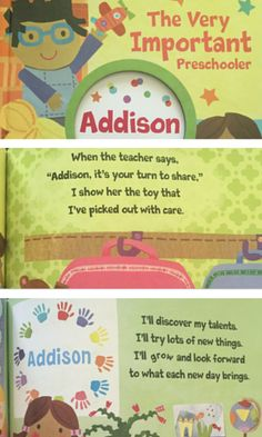 Do you have a little one heading off the preschool in the fall? If so, you MUST check out this adorable The Very Important Preschooler (V.I.P) Storybook from I See Me!.