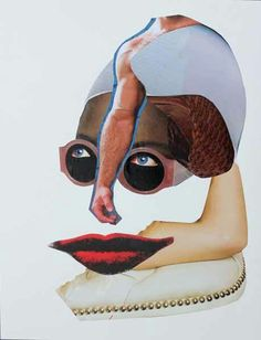 #collage =Under dali vision = alexandre santacruz art