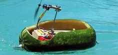 How to Build a Radio Controlled Watermelon Air Boat « Hacks, Mods & Circuitry