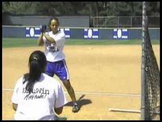 batting timing drill, colored ball player has to yell color just before batting..