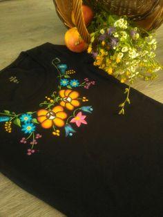 Folk &flower.Ručne maľovaný textil. byzuzy@gmail.com