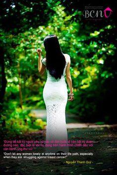 Đừng để bất kỳ người phụ nữ nào cô đơn đi trên bất kỳ đoạn đường nào, đặc biệt là khi họ đang trên hành trình chiến đấu với căn bệnh UNG THƯ VÚ!