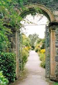 Garnish Island, Ireland - beautiful gate