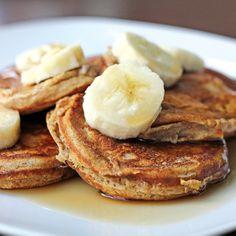 Skinny Mini Banana Pancakes @Tina Orlandi Mom