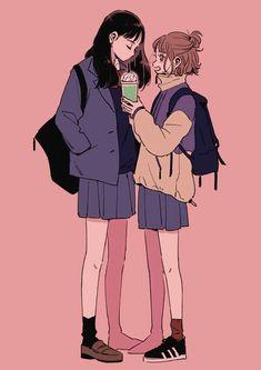 ☆ apostelesma ☆ - ☆ apostelesma ☆ Source by emelycalle - Anime Art Girl, Manga Art, Anime Girls, Aesthetic Anime, Aesthetic Art, Character Inspiration, Character Art, Yuri Anime, Anime Girlxgirl