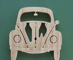 Puzzle de scie à chantourner VW fabriqués à la par DukesScrollSaw                                                                                                                                                     Plus