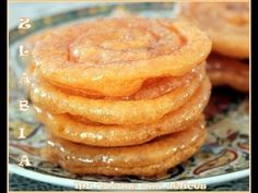 Vidéo : Comment préparer Zlabia, gâteau au miel du Ramadan